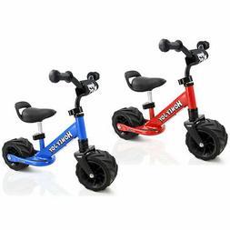 6.5'' Kids Balance Bike No Pedal Adjustable Height Wide PU T