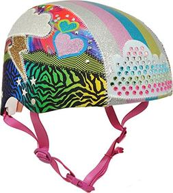 Raskullz Girls 8+ Loud Cloud Sparklez Helmet