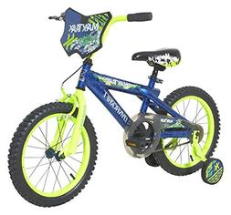 "Dynacraft 8056-89TJ Maxx Trax Bike, 16"", Blue"