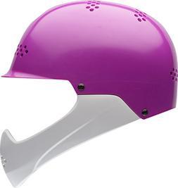 Bell Shield Child Helmet, Purple/White