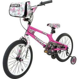 Dynacraft 8093-36TJ Decoy Girls Camo Bike, 18-Inch, Pink/Bla