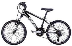 HASA 2018 18 Speed Kids Mountain Bike  20 INCH Black