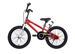Royalbaby BMX Freestyle Kid's Bike, 18 inch wheels, Red