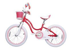 Royalbaby Stargirl Girl's Bike, 16 inch Wheels, Pink