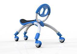 YBIKE Pewi Elite Bike Walking Ride On Toy, Blue