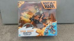 ACTION  MAN trial bike attack.   76507  hasbro  new item.