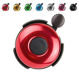 Aluminum Bike Bell, Loud Sound Bicycle Bell for Adults Kids