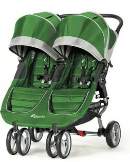 Baby Jogger City Mini Double Stroller, Evergreen/Gray, Brand
