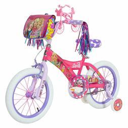 "Dynacraft Barbie 16"" Pink Girls Bike"