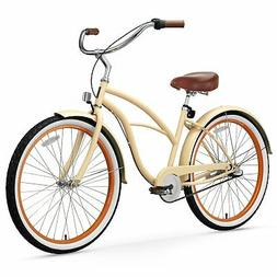 sixthreezero Women's 3-Speed Beach Cruiser Bicycle, Scholar