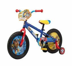 Nickelodeon Paw Patrol Boy's Bicycle with Training Wheels, 1