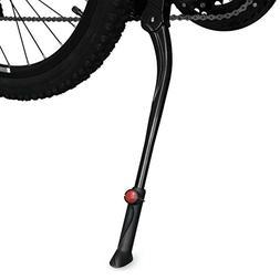 BV Bicycle Adjustable Center Kickstand for Bike 24 to 28 Inc
