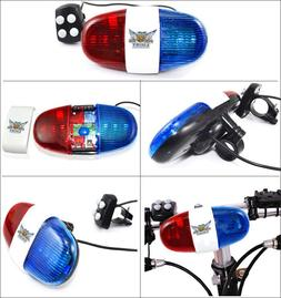 Bicycle Bell 6 LED 4 Tone Bicycle <font><b>Horn</b></font> H