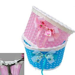 Bicycle Bike Front Basket Cycling Shopping Storage for Child