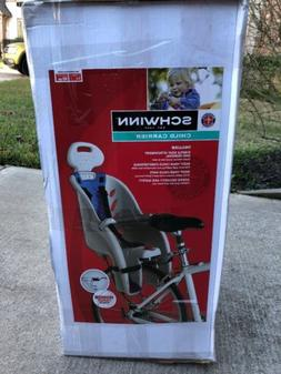 Schwinn Bicycle Child Bike Seat Carrier Deluxe w/ Bonus Carg