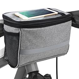 Bicycle BicycleStore Cycling Basket Handlebar Bag with Sli