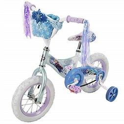 12'' Disney Frozen Girls' Bike by Huffy, Ice Blue