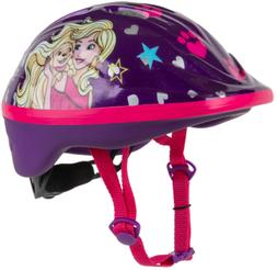 Barbie Bicycle Helmet with Dial Fit System, Adjustable Chin