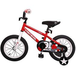 JOYSTAR 16 Inch Kids Bike for Boys & Girls, Unisex Child Bic
