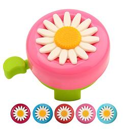 Paliston Kid's Bike Bell, Bicycle Bell for Girls, Bike Horny