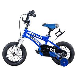 Tauki Kids BMX Freestyle Bikes, 12 Inch BMX Street/Dirt Bike