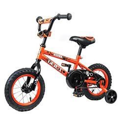 Tauki Kids BMX Freestyle Bike for Boys and Girls, 12 Inch Ki