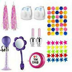 Bike Decoration & Accessories Kit for Kids - Includes Bike S