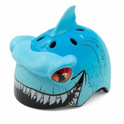 Raskullz Bike Helmet Shark Face Mask Kids 5-8 Skateboard Rol