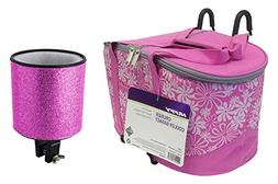 Bike Insulated Cooler Basket for Girls Cruiser Bicycle with