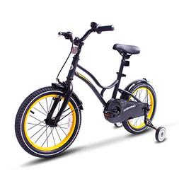COEWSKE Kid's Bike Steel Frame Children Bicycle 14-16 Inch w