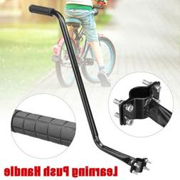 Bike Training Push Grab Handle Bar Bicycle Safety Pole Train