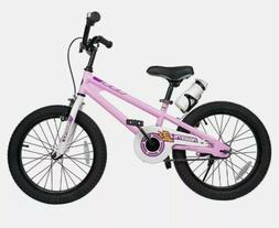 Bikes for Boys Girls BMX Freestyle 18 Inch White Training Wh