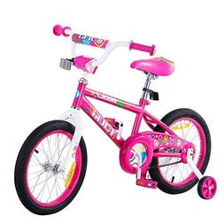 Tauki Kid Bike BMX Bike for Boys and Girls, 16 Inch, Pink, 9