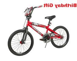 "Birthday Gift Bike Dynacraft 20"" Wipeout Boys Bike, Red"