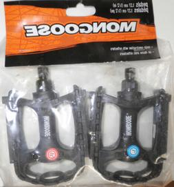 """MONGOOSE BLACK BICYCLE/TRICYCLE PEDALS 1/2"""" BIKE PARTS 197-1"""