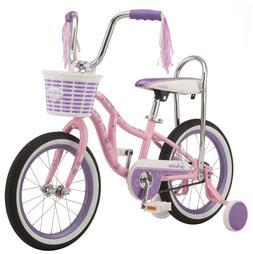 Schwinn Bloom Kids Bike 16-inch Wheel Training Wheels Girls