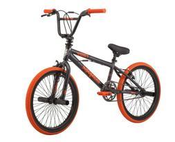 "🔥 Mongoose BMX Bike 20"" Wheels Gray Orange Old School S"