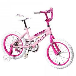 "16"" Children BMX Girls Kids Bike Bicycle With Training Wheel"
