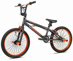 """20"""" Boys BMX Bike with Front and Rear Freestyle Pegs Matte G"""