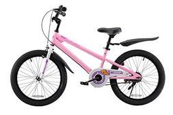 Royalbaby BMX Freestyle Kid's Bike, 20 inch Wheels, Pink