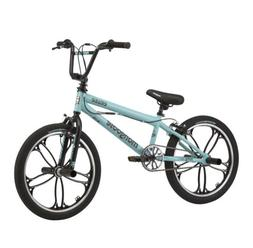 "Mongoose Boy's BMX Freestyle Bike 20 Inch Wheels ""Craze"" Gre"