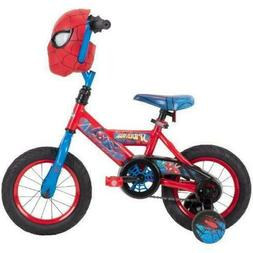 boys bicycle 12 inch huffy marvel spider