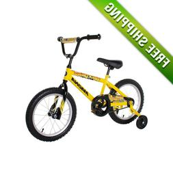 "BOYS BIKE 16"" Magna CHILDREN STARTER BICYCLE TRAINING WHEELS"