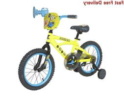 Minions Boys Dynacraft Bike, Yellow/Blue