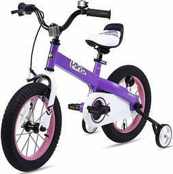 "RoyalBaby Boys Girls Kids Bike 12"" Honey Bicycles Training W"