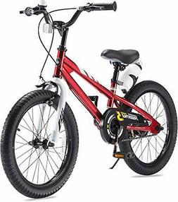 RoyalBaby Boys Girls Kids Bike 18 Inch BMX Freestyle 2 Hand