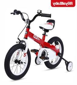 RoyalBaby Boys Girls Kids Bike Honey 16 18 Inch Training Whe