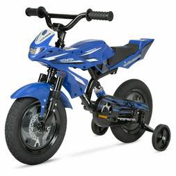 "Boys Kids 12"" Bike Summer Training wheels Shock Absorber Chi"