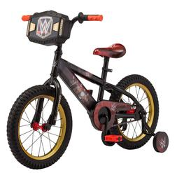 Boys 16 inch Mongoose WWE Sidewalk Bike