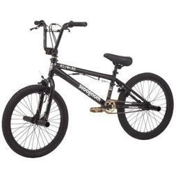 Mongoose BRAWLER Freestyle BMX Bike 20-inch wheels pegs blac